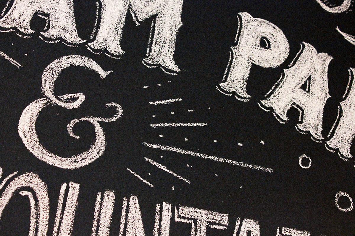 Chalk Wall Chalk art chalk type chalk typography HAND LETTERING hand drawn letters candy store lolli and pops Mural chalk mural Chalk letters letters black board chalk board