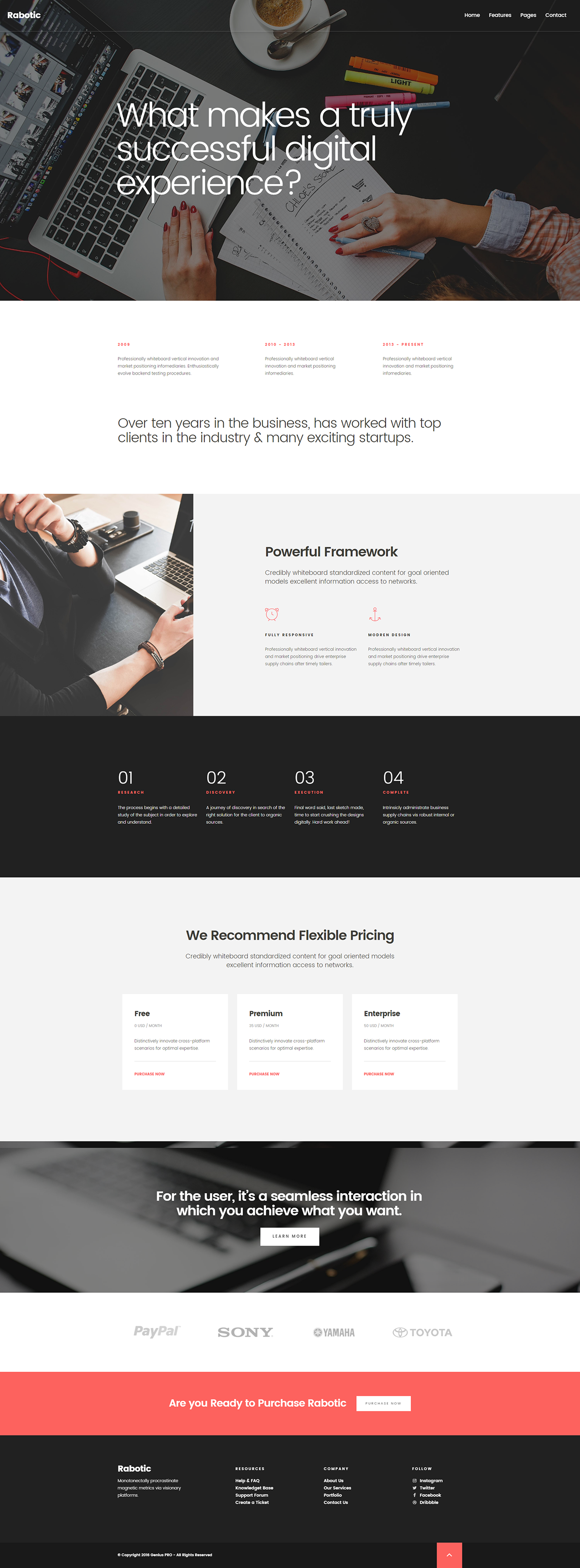 freebie Free Template bootstrap HTML css html css template free download Free Bootstrap Template corporate business