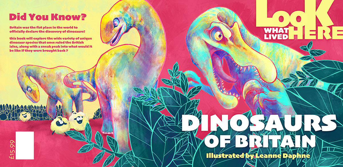 bright childrens book dinosaurs educational humour light-hearted new science