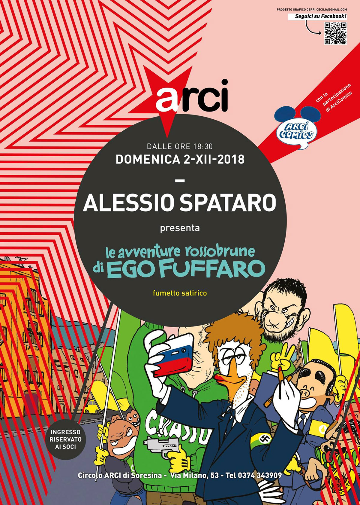 ARCI concert Event facebook flyer music poster punk rock