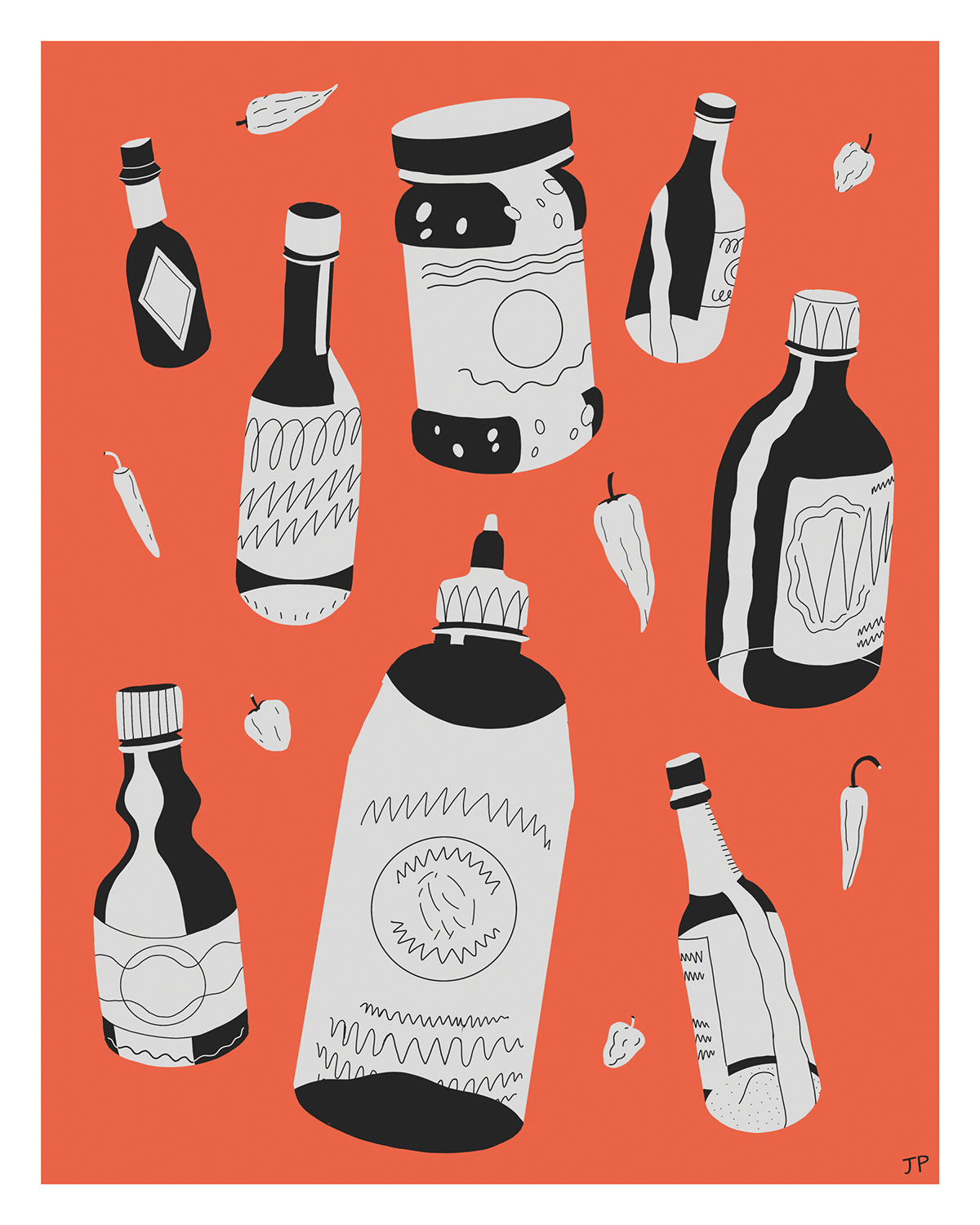 Image may contain: bottle, illustration and drink