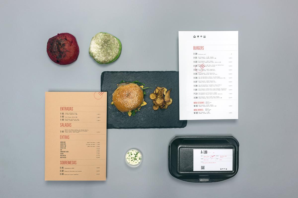 identity burger delivery stamp sticker design logo Icon meat