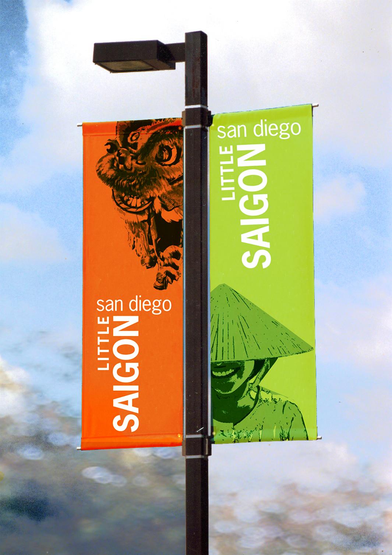 Little Saigon San Diego Banners On Behance