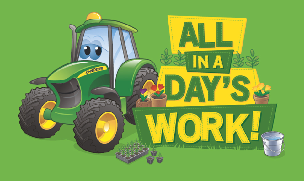 Johnny Tractor Cartoon : John deere johnny tractor friends style guide on behance