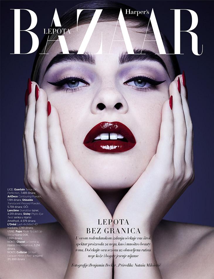 Harper S Bazaar Beauty On Behance