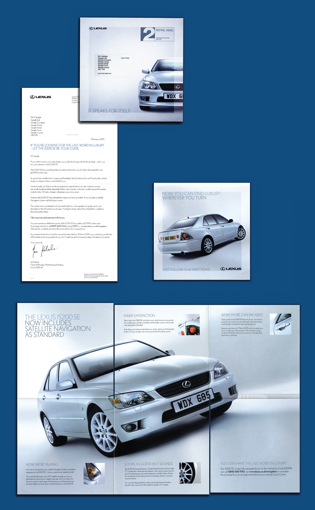 LEXUS 'Sat Nav' on Behance