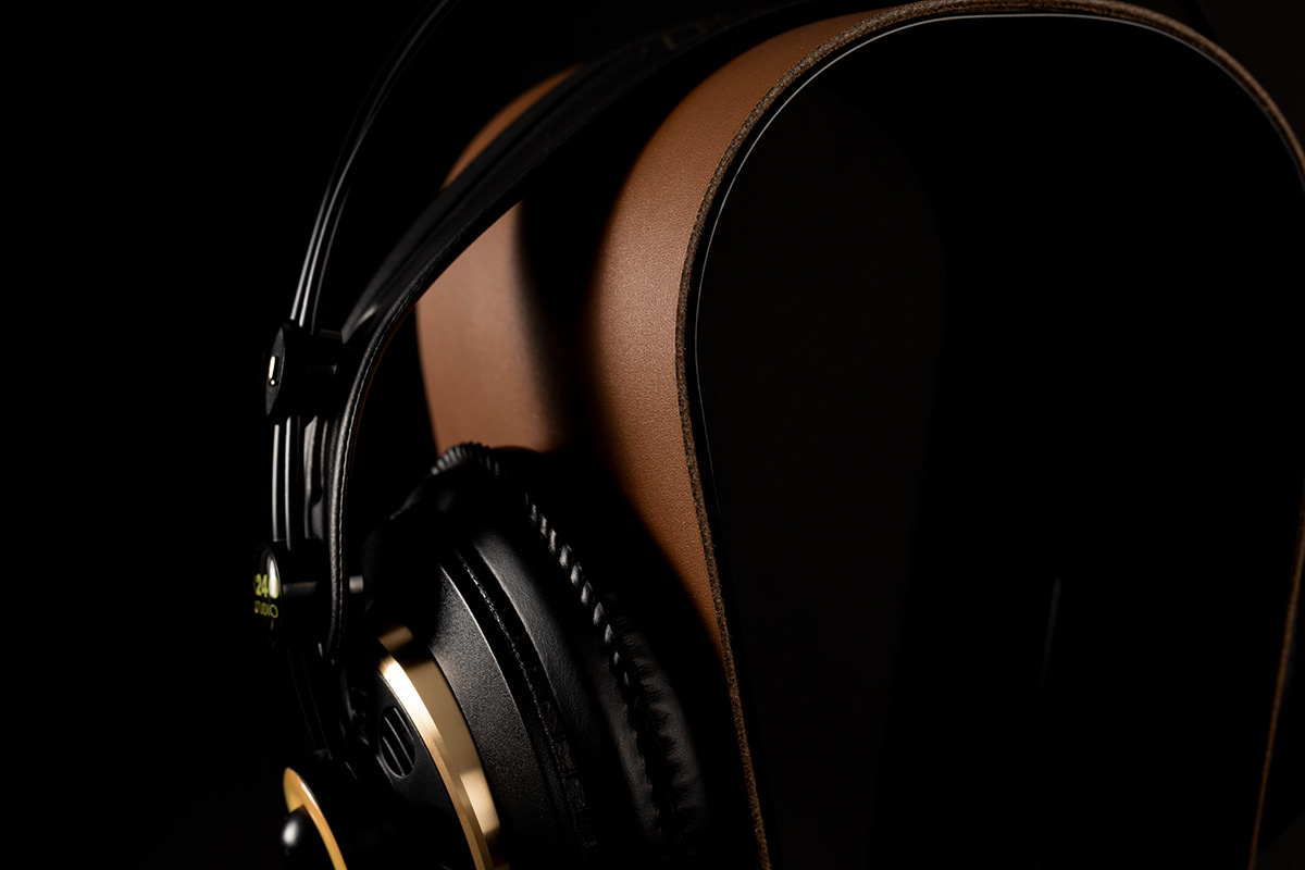 headphones packshots Photography  product Product Photography retouch Stand