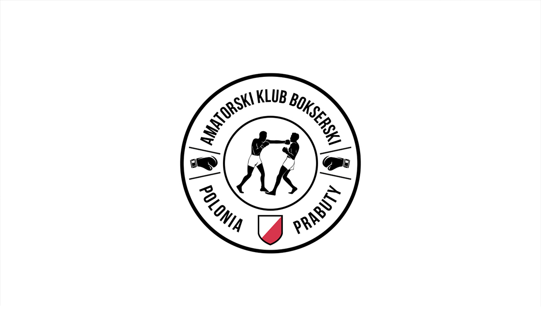 logo grafika design creative fight Boxing Polonia prabuty symbol
