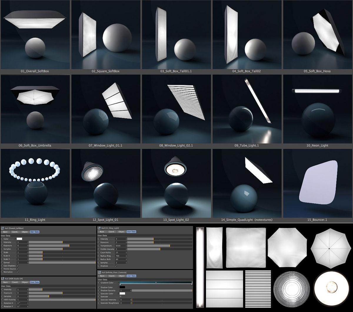 Arnold Light Suite C4D on Behance