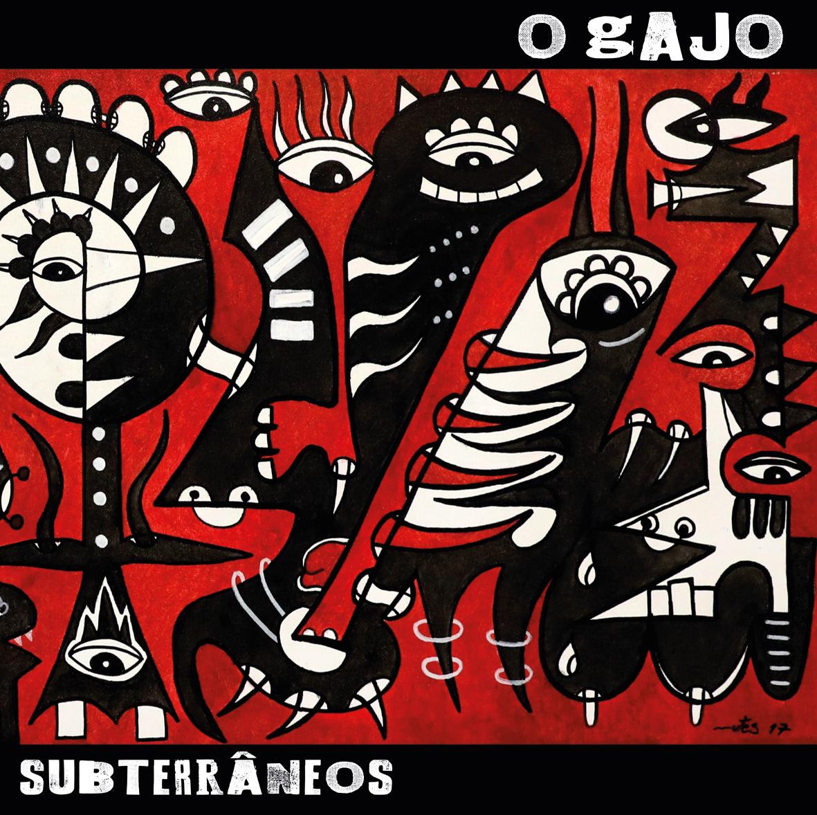 """O GAJO apresenta capa de """"Subterrâneos"""""""