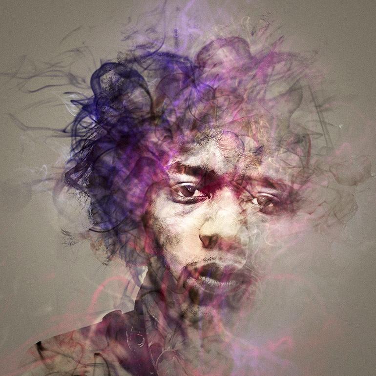 music musicians meditation Beatles Imagine Radiohead Hendrix Irridescent