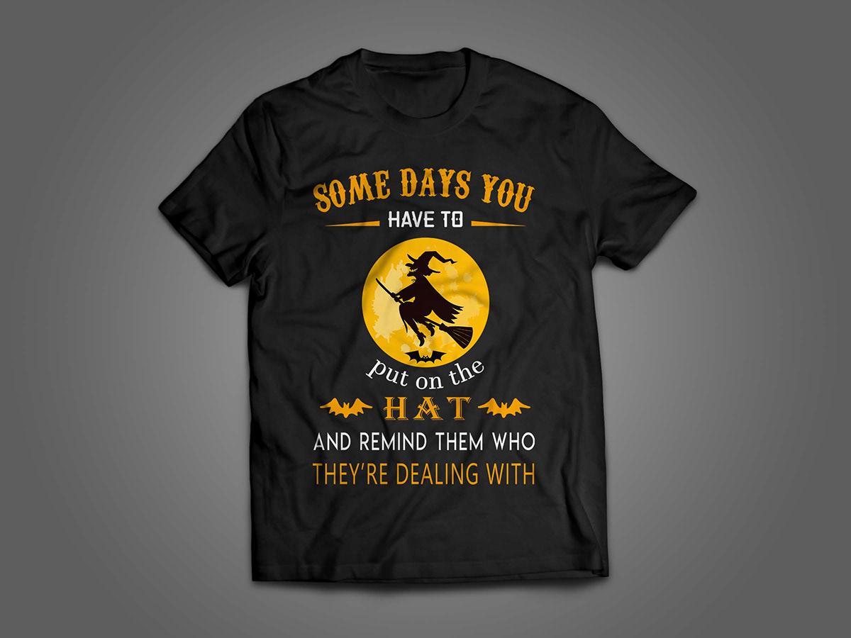 halloween t-shirt design on wacom gallery