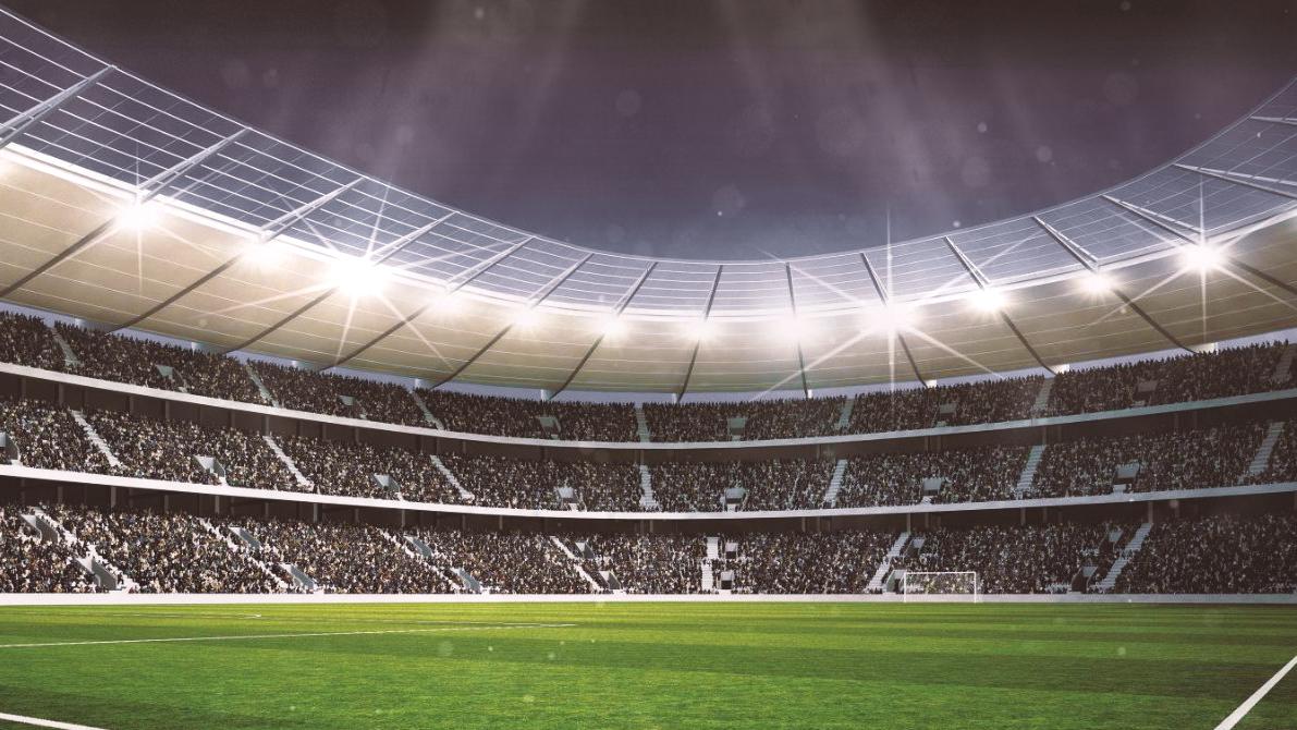 Stadiums 2 hd on behance - Soccer stadium hd ...