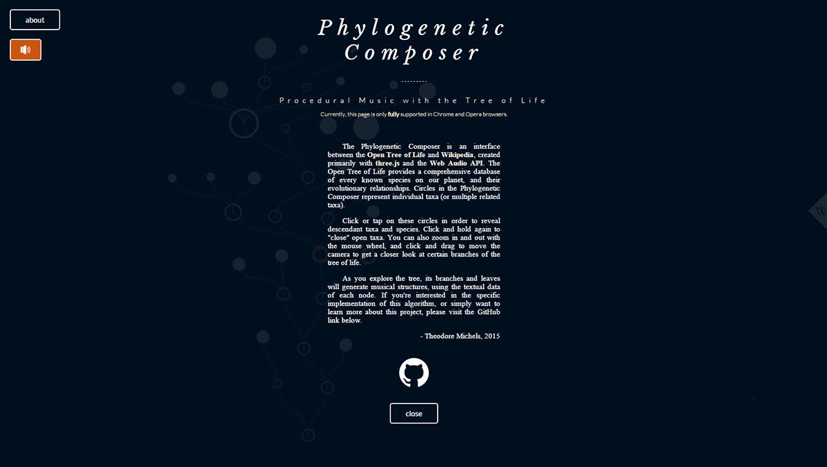 Phylogenetic Composer on Behance