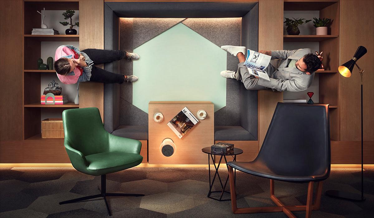 art campaign d3 design destrict direction dubai illusion Perspective Photography