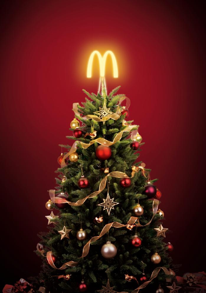 saying mcdonalds christmas ad - 698×996
