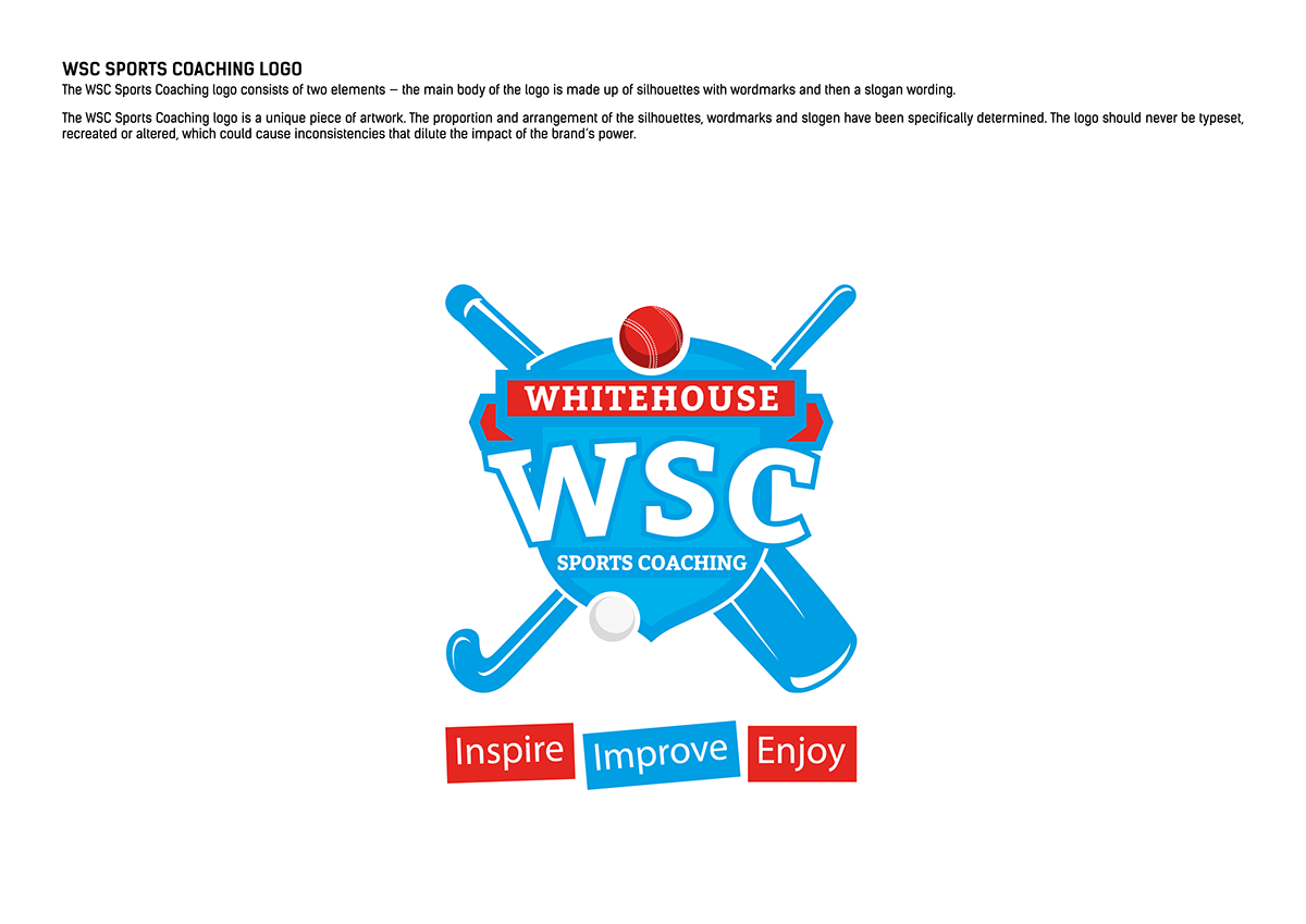 fa25a3601d59 Sports Coaching Logo design with Brand Identity on Behance