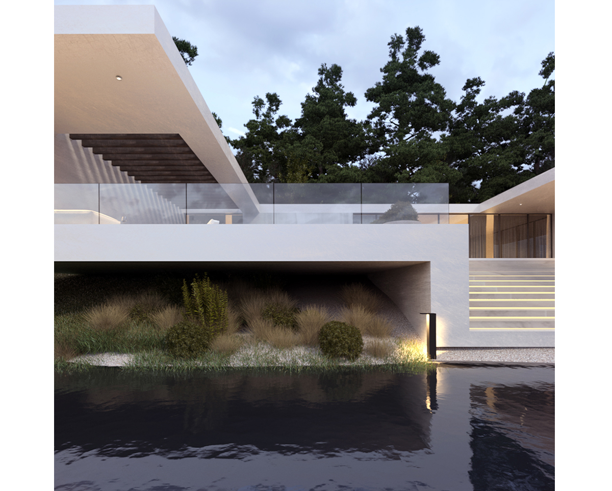 Modern project house 87 on behance