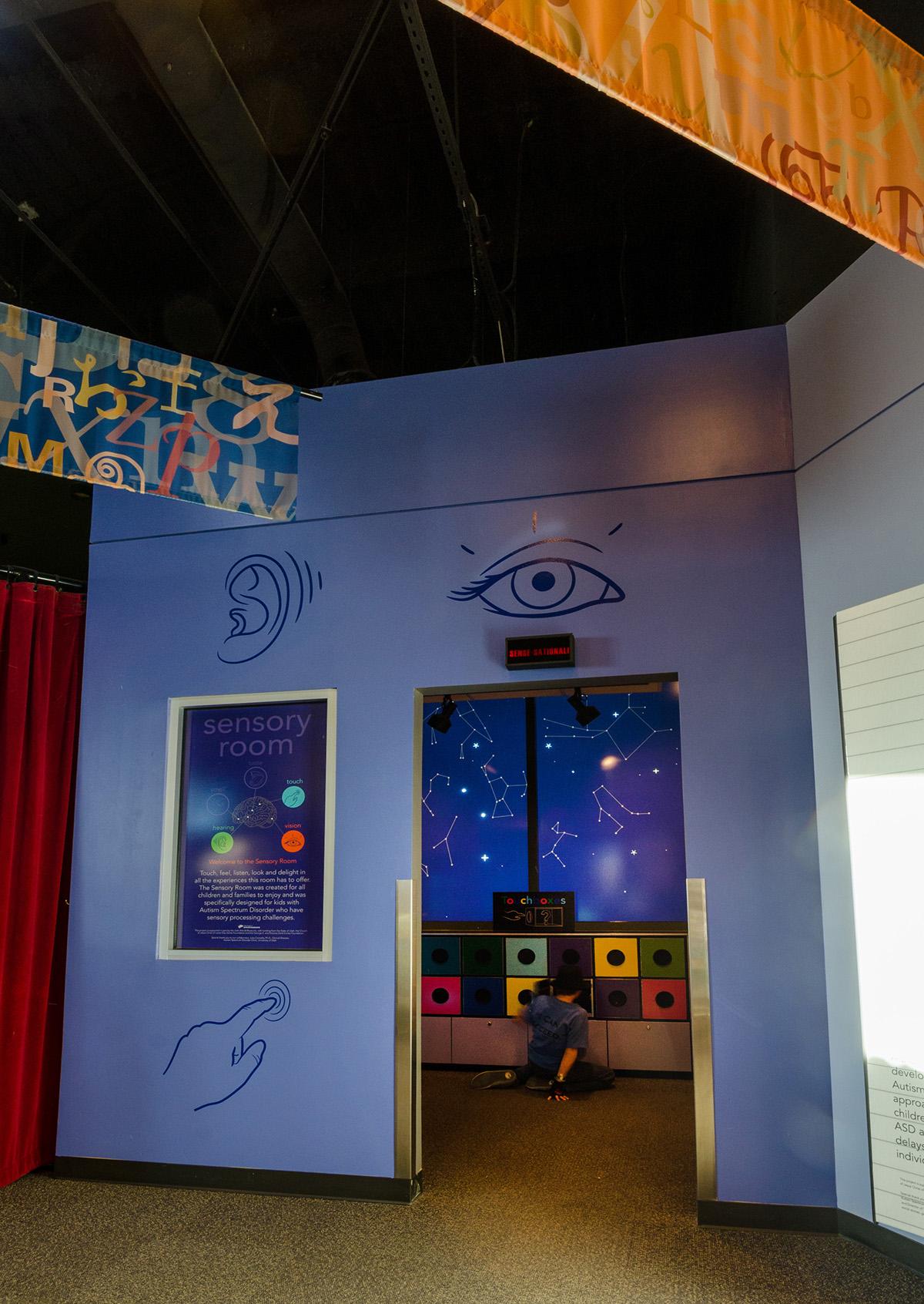 The Engine Room Design: Sensory Room & Social Story Corner Exhibit On Behance