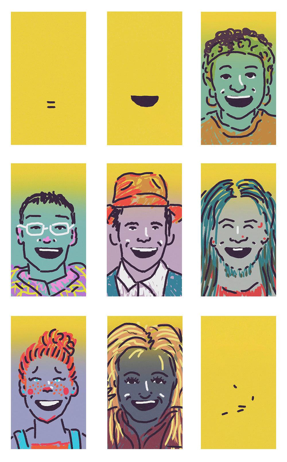 animacion equality igualdad people poster smile sonrisa