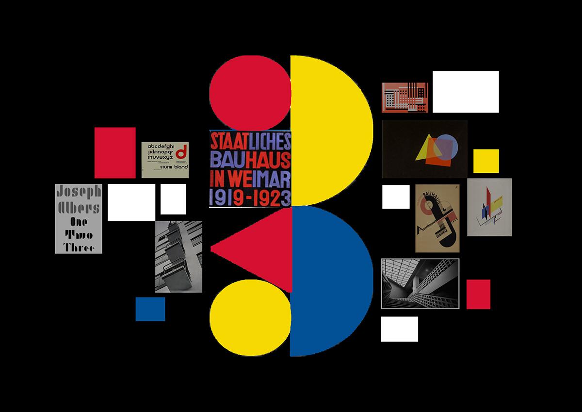24 Bauhaus Wandfarben Palette
