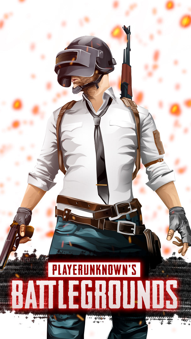 pubg vector poster design photoshop ILLUSTRATION  game