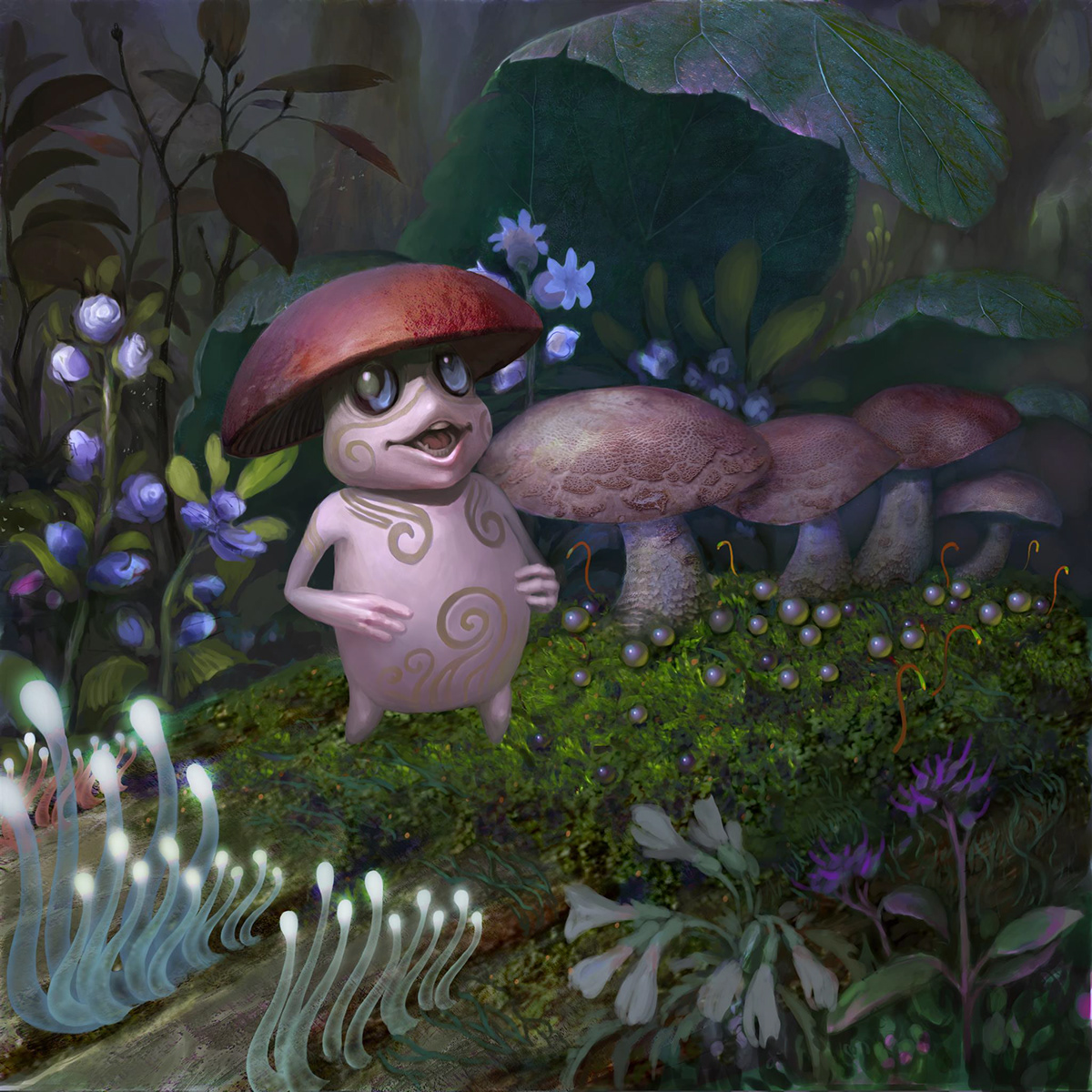 ILLUSTRATION  art cover branding  fungus