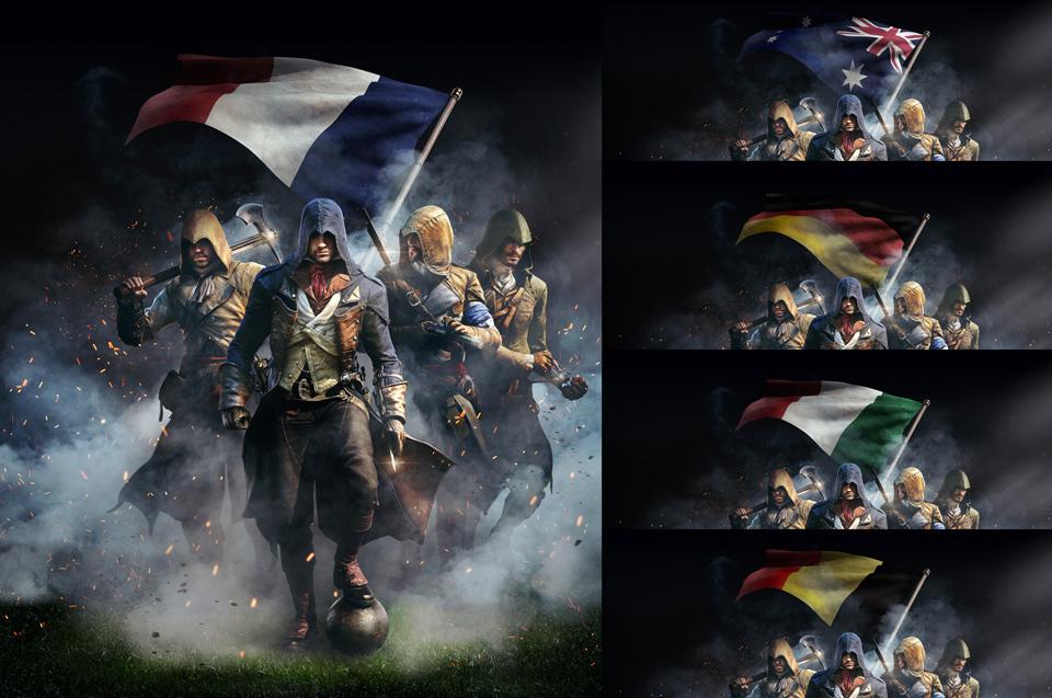 assassin Assassin's Creed ubisoft game Pack unity revolution