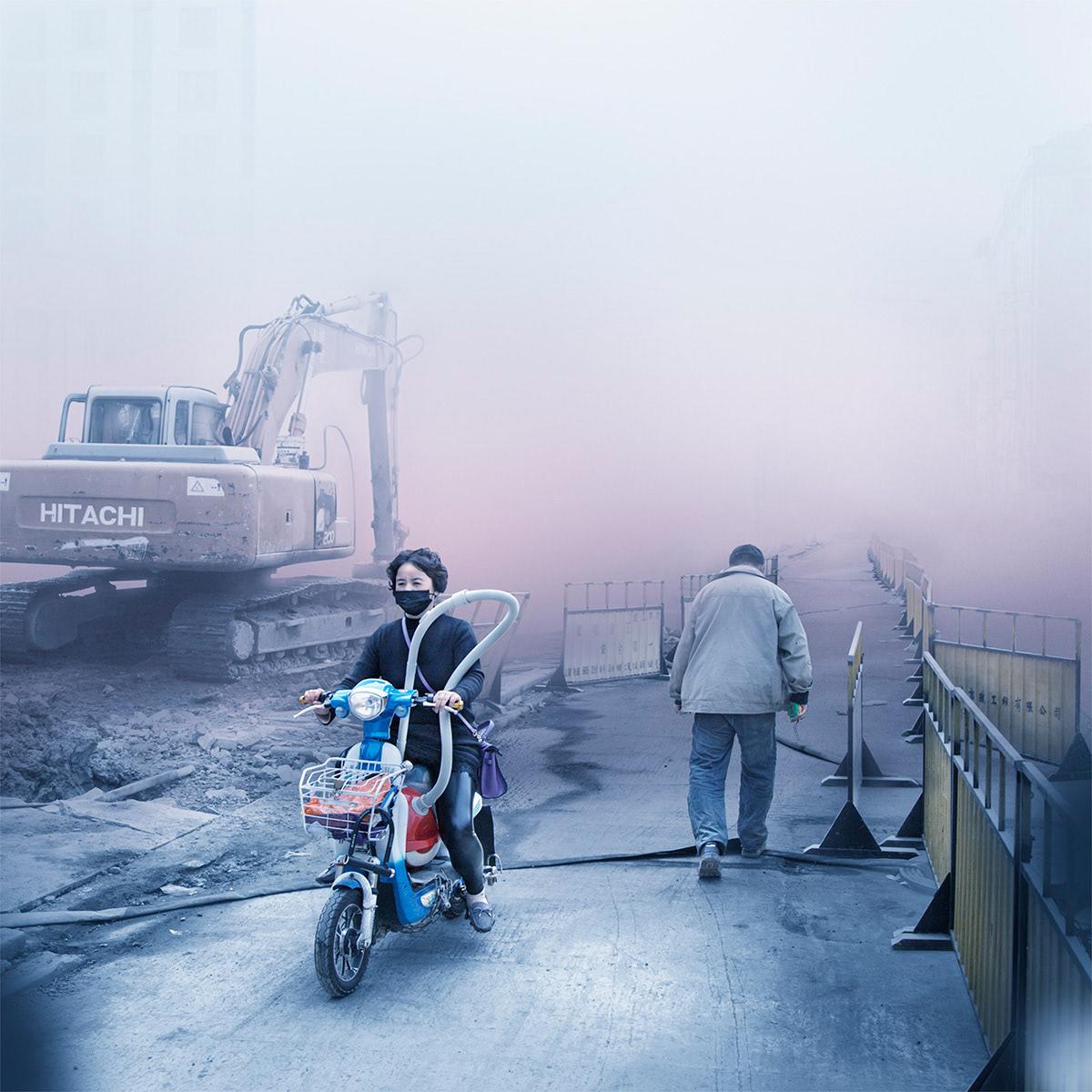 shanghai china Photography  surreal retouching  alexisgoodwin happyfinish street photography Digital Art  Beautiful