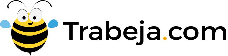Web trabeja footer Logotipo logo Logotype Iconos Icon bee Abeja
