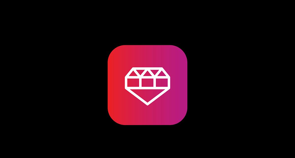 app identity logo ruby Brand Design logo mark Logotype san francisco