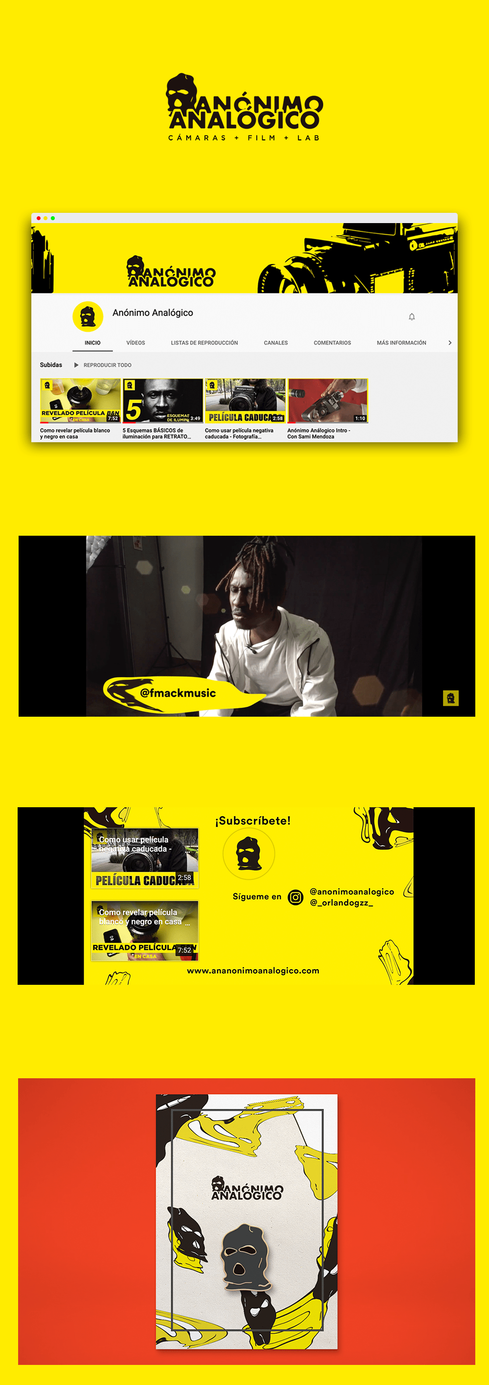 art brand Channel design graphic design  logo Photography  youtube