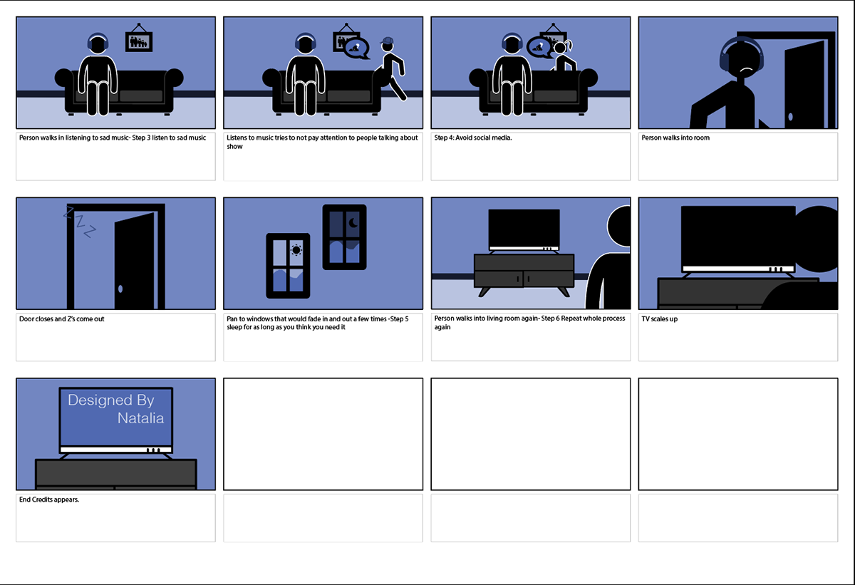 Animation: How to Handle Cliffhangers on Behance