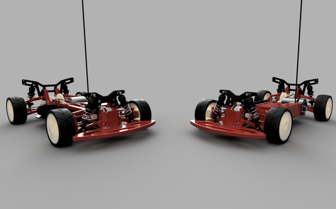 OpenR/C 3D Printed 1:10 4WD Touring Concept RC Car on Behance