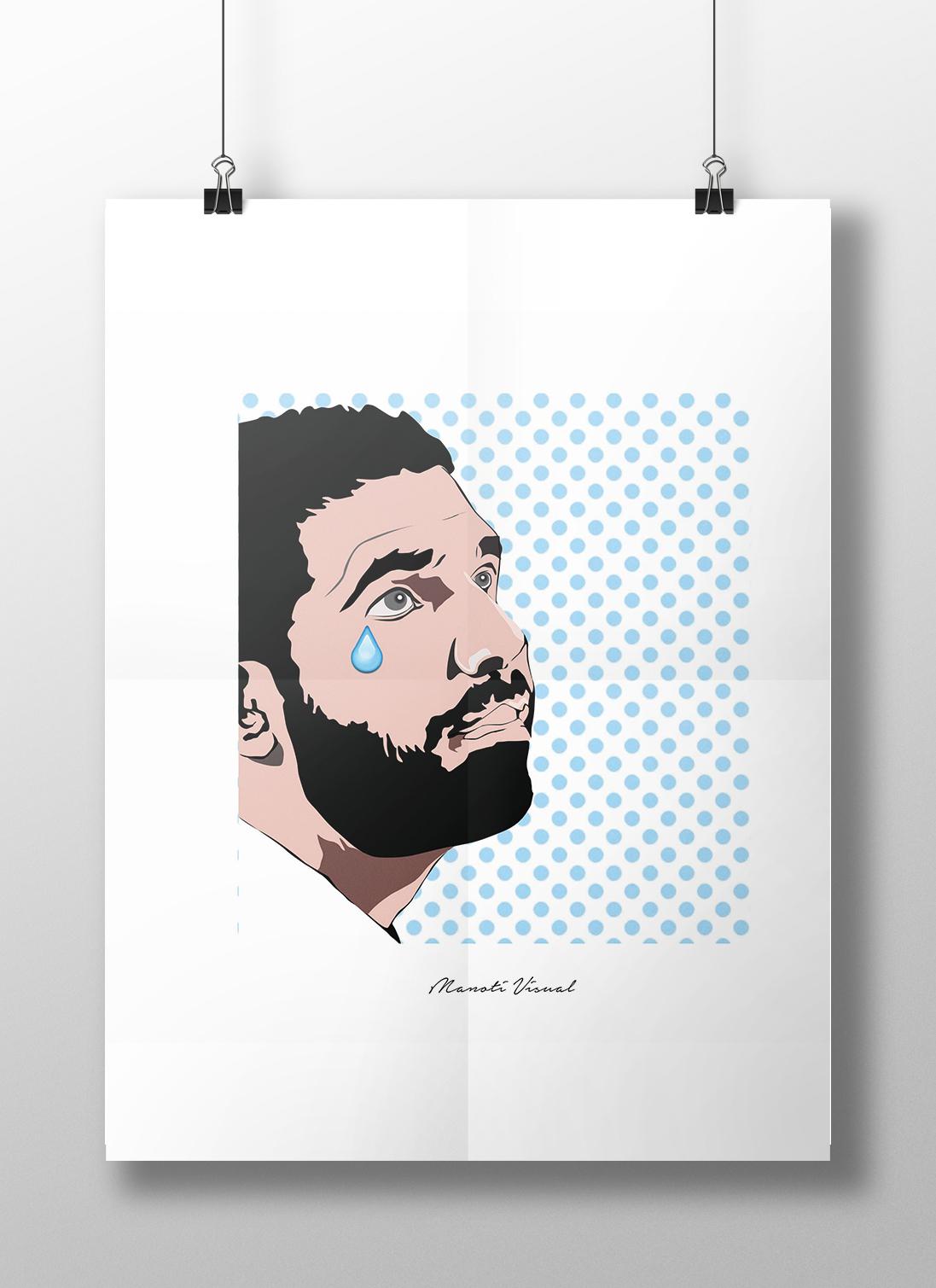 Kanye West Beyonce Drake lichtenstein