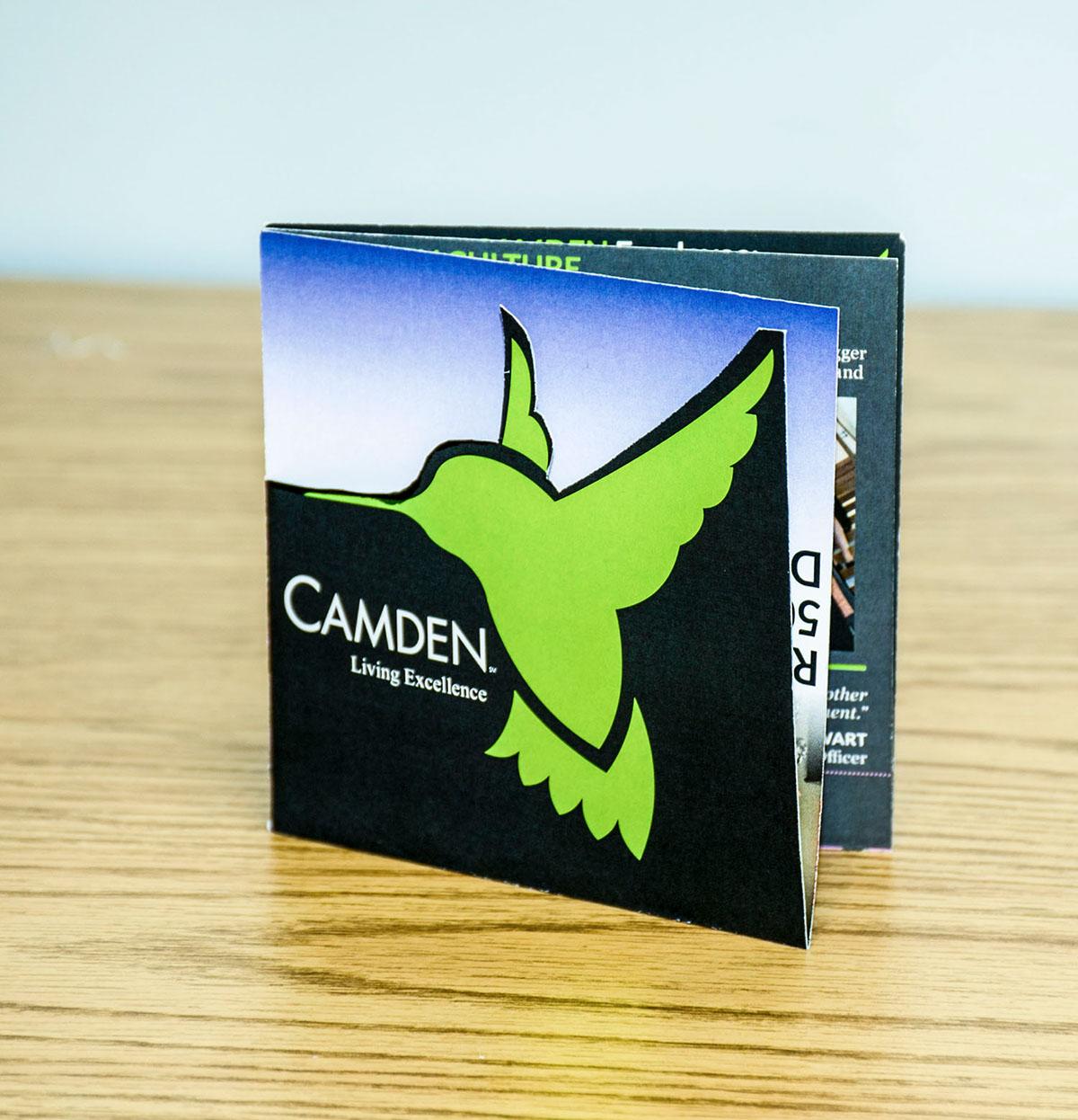 recruitment brochure camdenliving com on behance