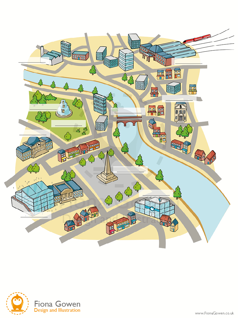 Vector maps for Cambridge University Press textbooks. Illustrated by map illustrator Fiona Gowen