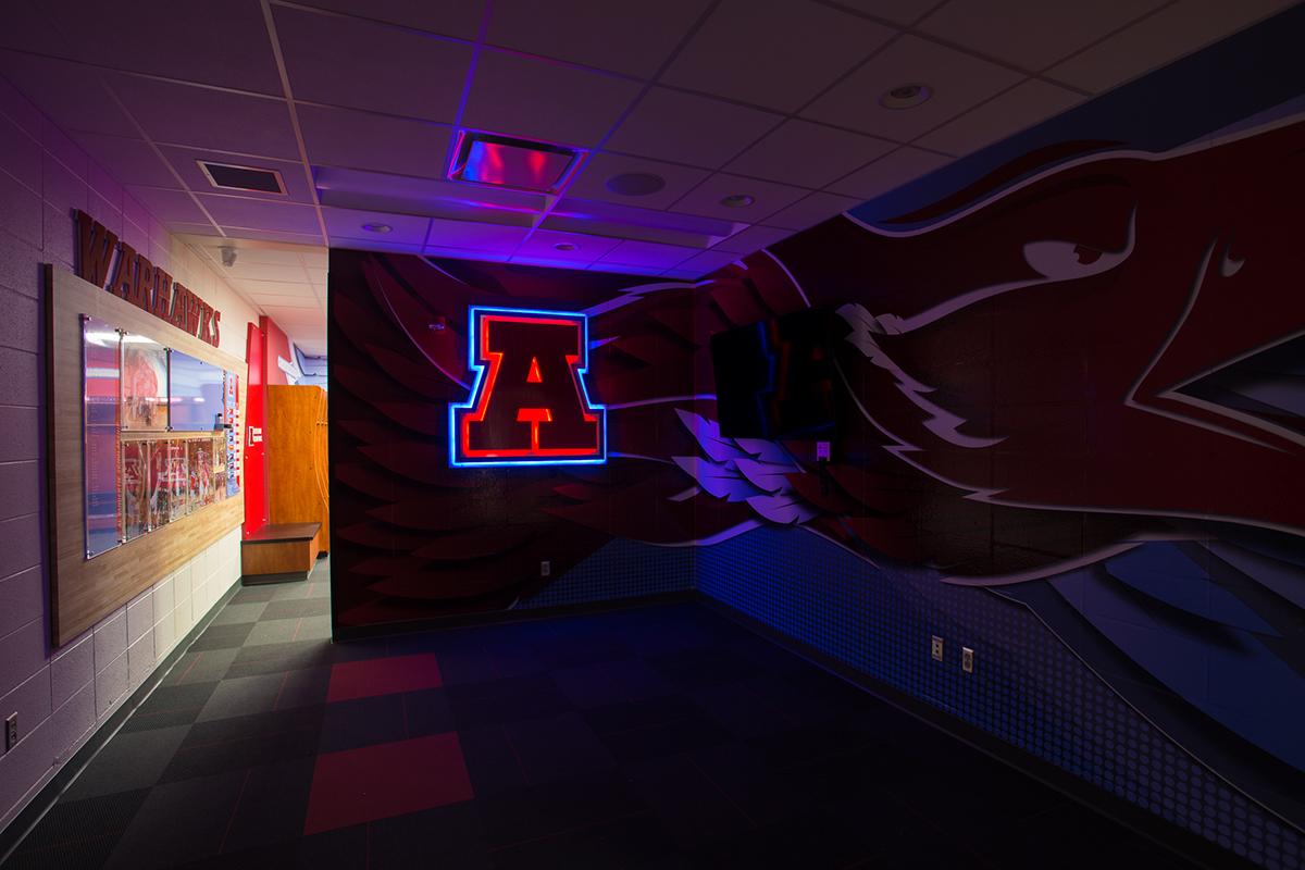 Arrowhead High School Wi Locker Room