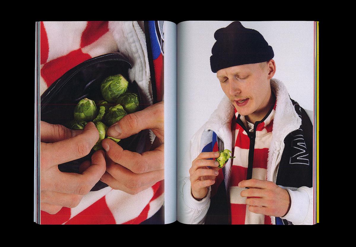 Lookbook magazine vegetables Photography  seasonal regional
