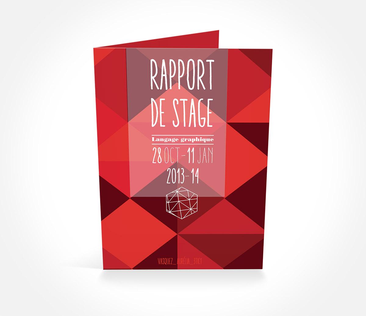 image de rapport de stage