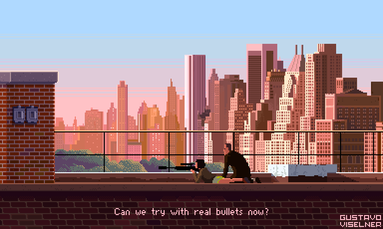 Game artist recreates iconic movie scenes through Pixel Art