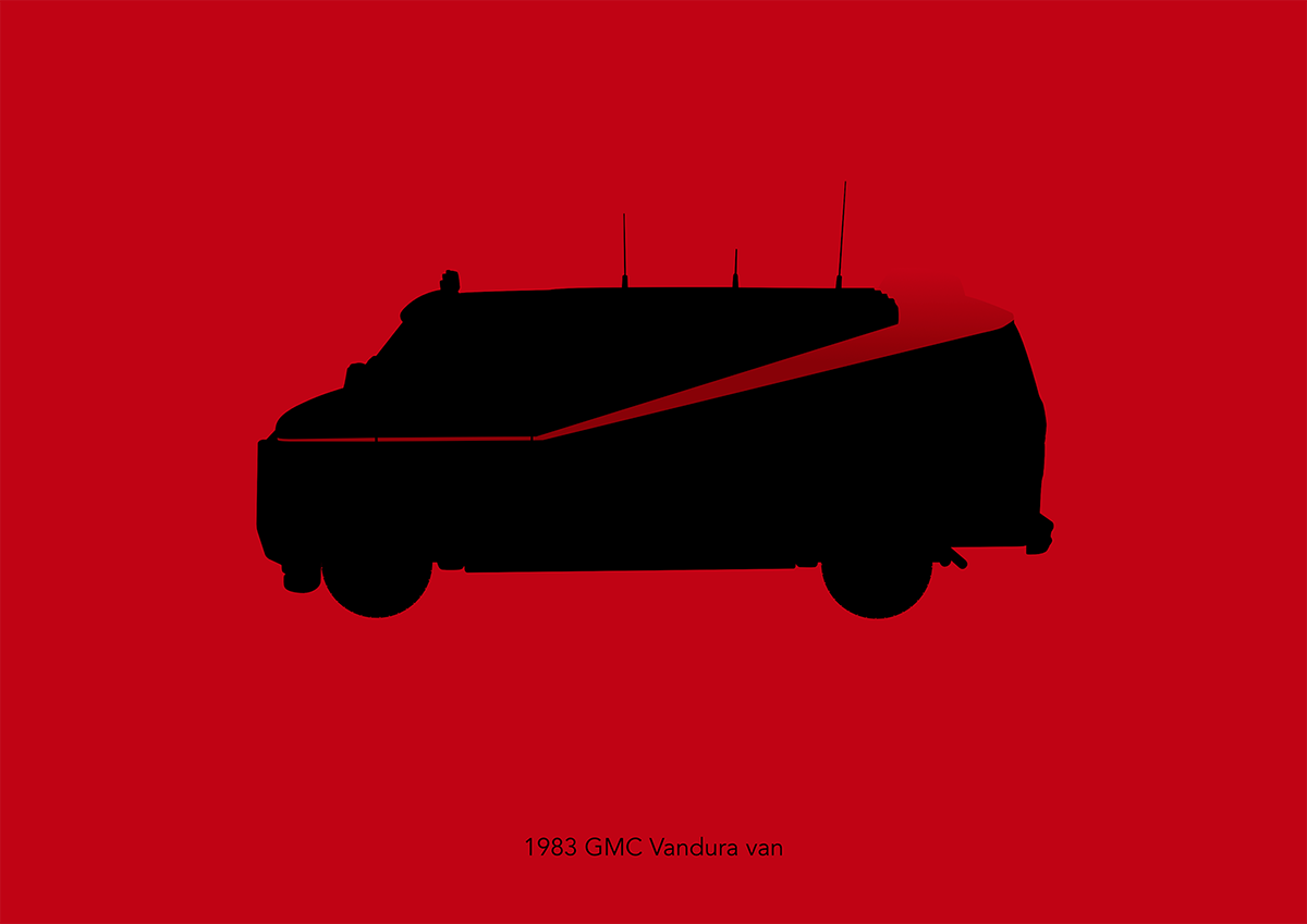 e0f9f5924ba4f7 Iconic vehicle silhouettes on Behance
