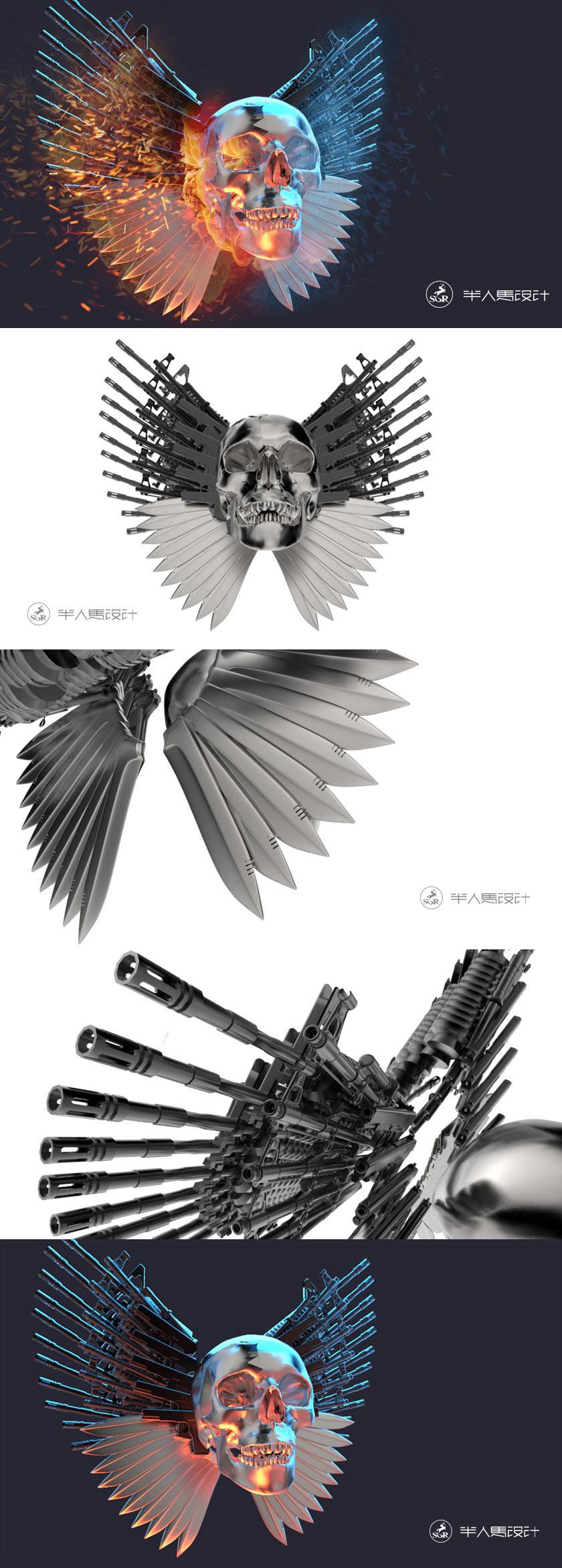expendable 3D design
