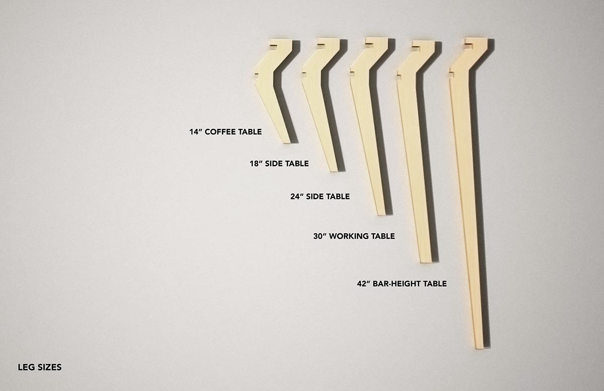 Wrap Wrap system modular furniture cnc flatpack Sustainable