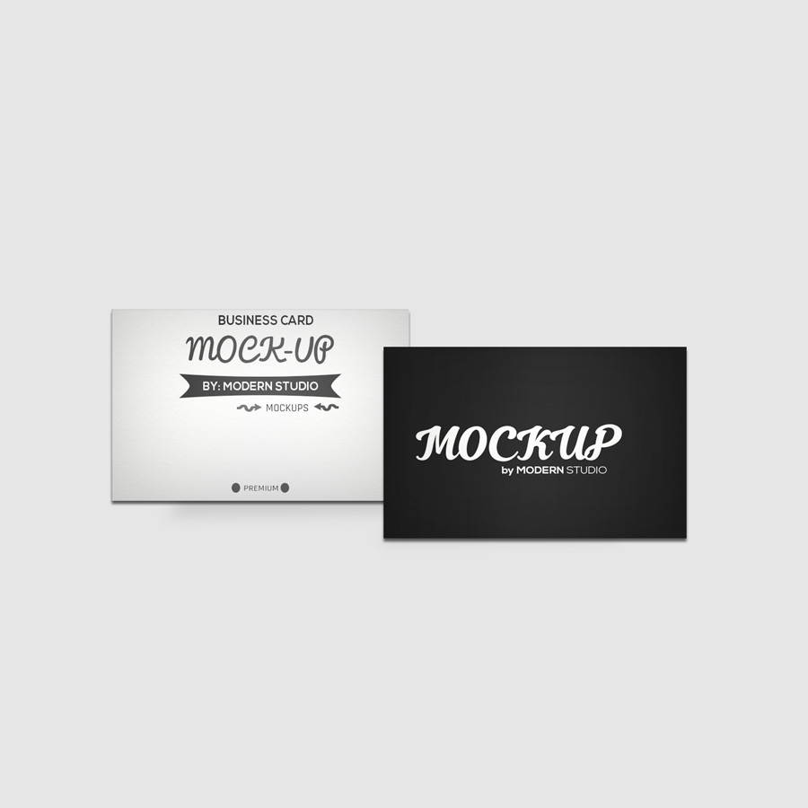 Three Free Business Card Mockups on Behance