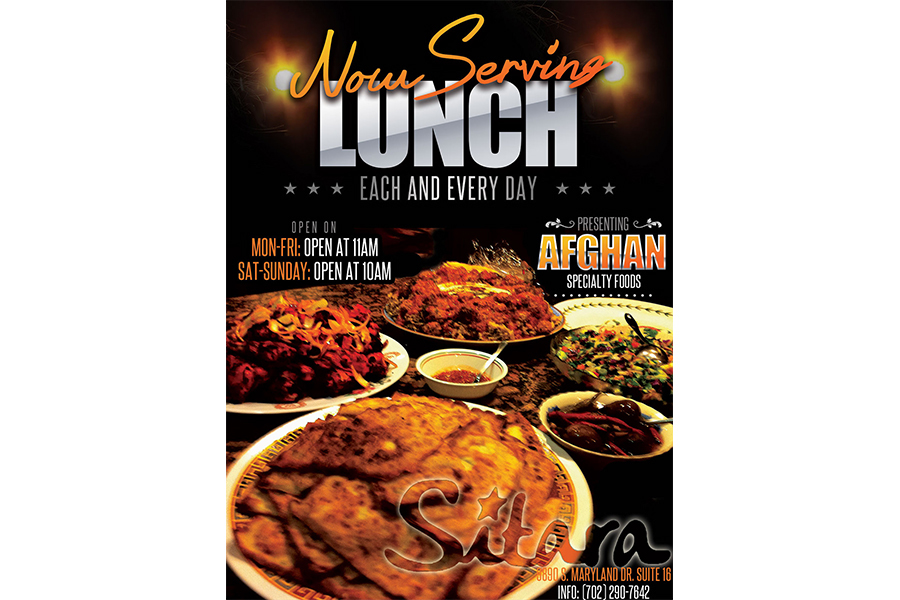 now serving lunch flyer on behance