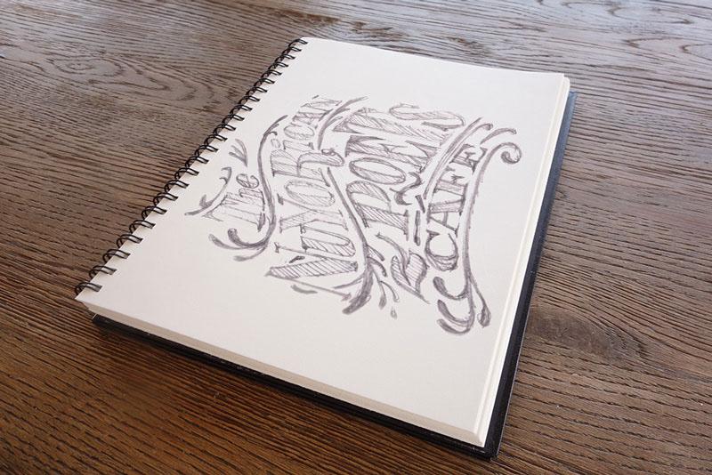 Adobe Portfolio type brand logo nuyo nyc les sketch