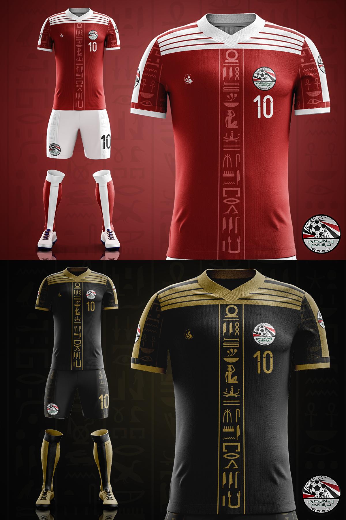 Egypt Football kit 2018 ( concept ) on Behance 60fc7909e