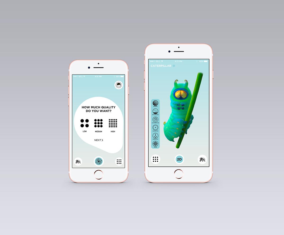 IIXIB  3D Scanner App on Behance