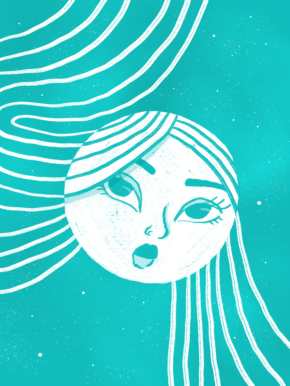 moon eclipse Magic   woman Nature moon art feminity Sensuality